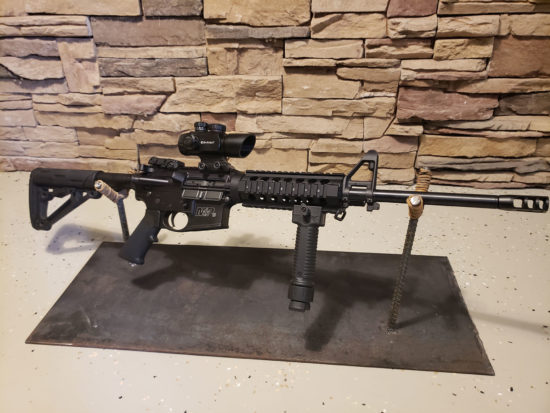 M&P AR .556 Rifle with Scope - Black
