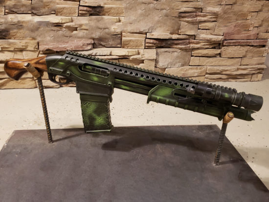 Custom Remington TAC 14 12GA